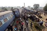 Hindistanda qatar qəzası