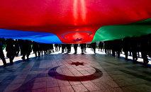 Шествие, посвященное Дню Государственного флага Азербайджана, фото из архива
