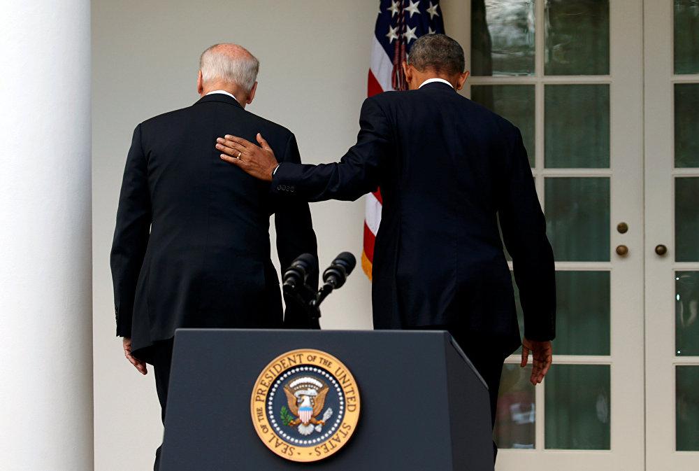 Обама в Белом доме