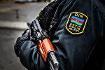 Сотрудник Полицейского полка быстрого реагирования при МВД Азербайджана, фото из архива