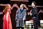 Akademik Milli Dram Teatrında Qürbətdən gələn məktublar tamaşası