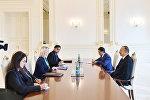 İlham Əliyev ABŞ dövlət katibinin köməkçisinin müavinini qəbul edib