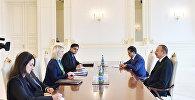 Ильхам Алиев принял заместителя помощника государственного секретаря США по вопросам Европы и Евразии