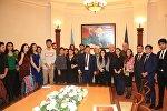 В АГЭУ представили творческий клуб студентов Русской экономической школы