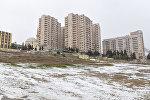 Снег в Баку, фото из архивов