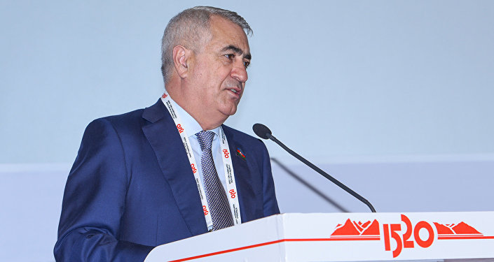 Президент Федерации волейбола Азербайджана (ФВА) Джавид Гурбанов, фото из архива