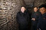 Лидер Северной Кореи Ким Чен Ын, фото из архива