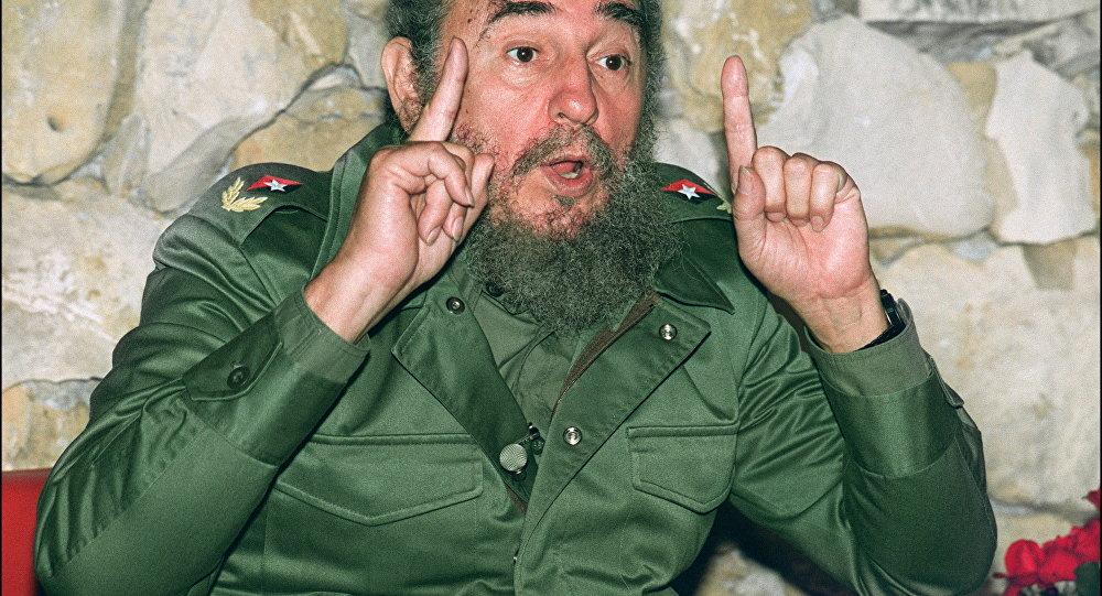 Пресс-конференция Фиделя Кастро