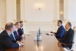 İlham Əliyev CISCO şirkətinin baş vitse-prezidentini qəbul edib
