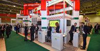 Павильон Беларуси на выставке Bakutel-2016 в Баку