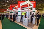 Открытие выставки Bakutel-2016 в Баку