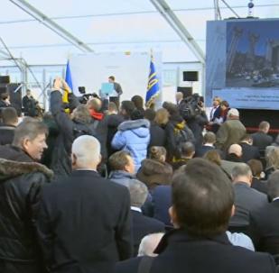 LIVE: Закрытие защитным саркофагом четвертого энергоблока Чернобыльской АЭС