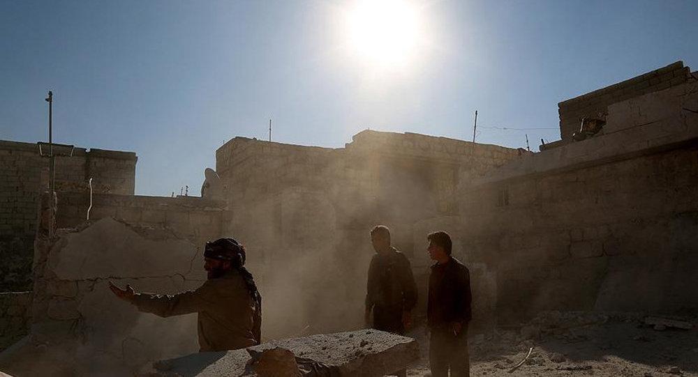 Кварталы Алеппо, населенные туркманами, полностью разрушены