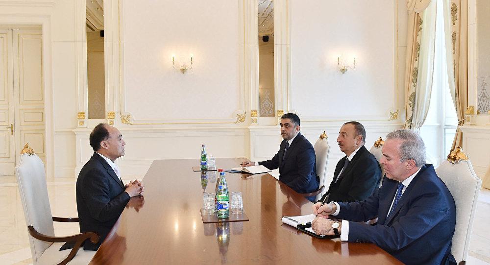 İlham Əliyev Beynəlxalq Telekommunikasiya İttifaqının baş katibini qəbul edib
