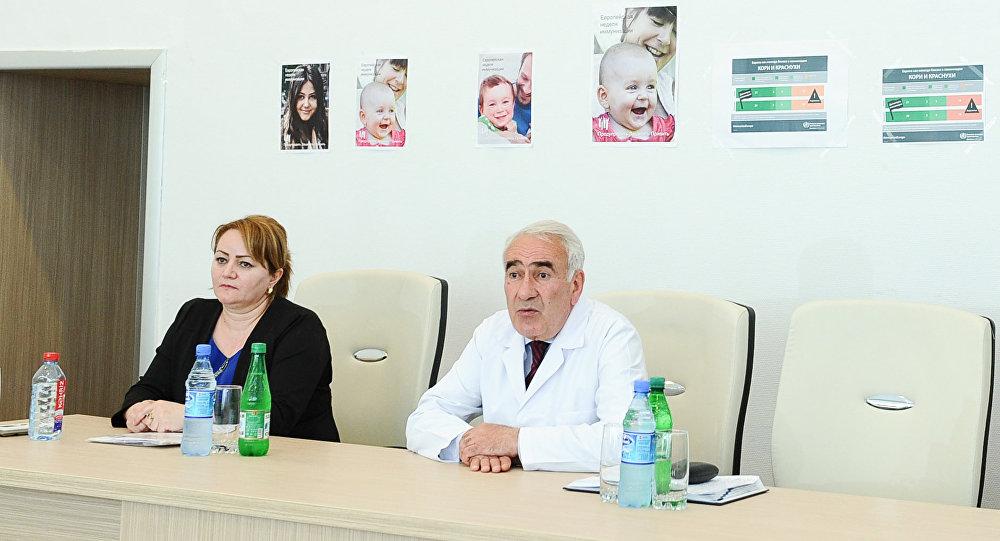 Главный педиатр Министерства здравоохранения АР Насиб Гулиев, архивное фото