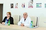 Главный педиатр Министерства здравоохранения АР Насиб Гулиев, фото из архива