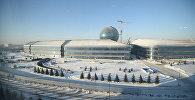 Главное здание EXPO – это Национальный павильон Казахстана, которое возводится в виде сферы с использованием самых передовых технологий