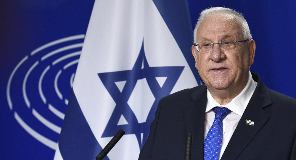 İsrail prezidenti Reuven Rivlin, arxiv şəkli