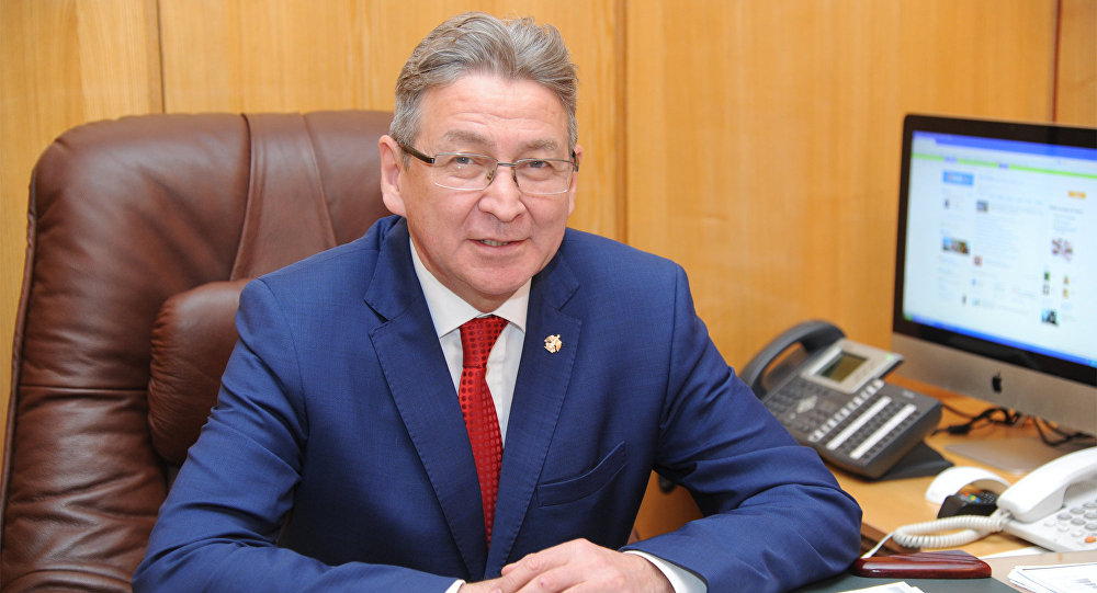 Ufa Dövlət Neft Texniki Universitetinin rektoru Ramil Baxtizin