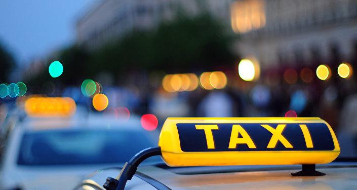 Такси, фото из архива
