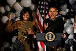 Barak Obama və həyat yoldaşı Mişel Obama
