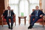 Çavuşoğlu və Rusiya xarici işlər naziri Lavrov