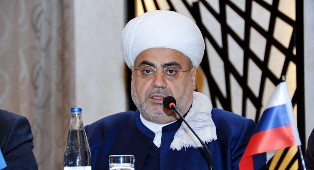 Председатель Управления мусульман Кавказа гаджи Аллахшукюр Пашазаде