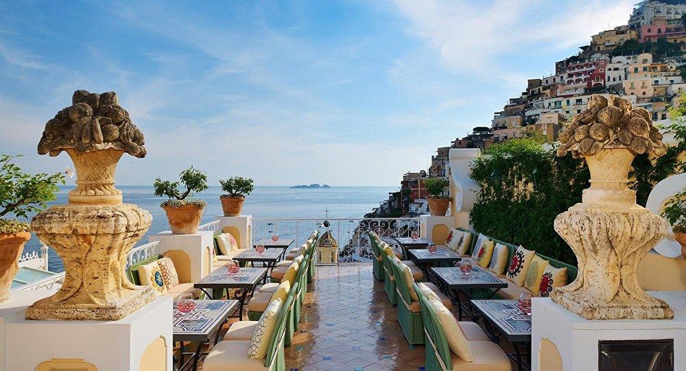 Отель Le Sirenuse в итальянском городе Позитано, фото из архива