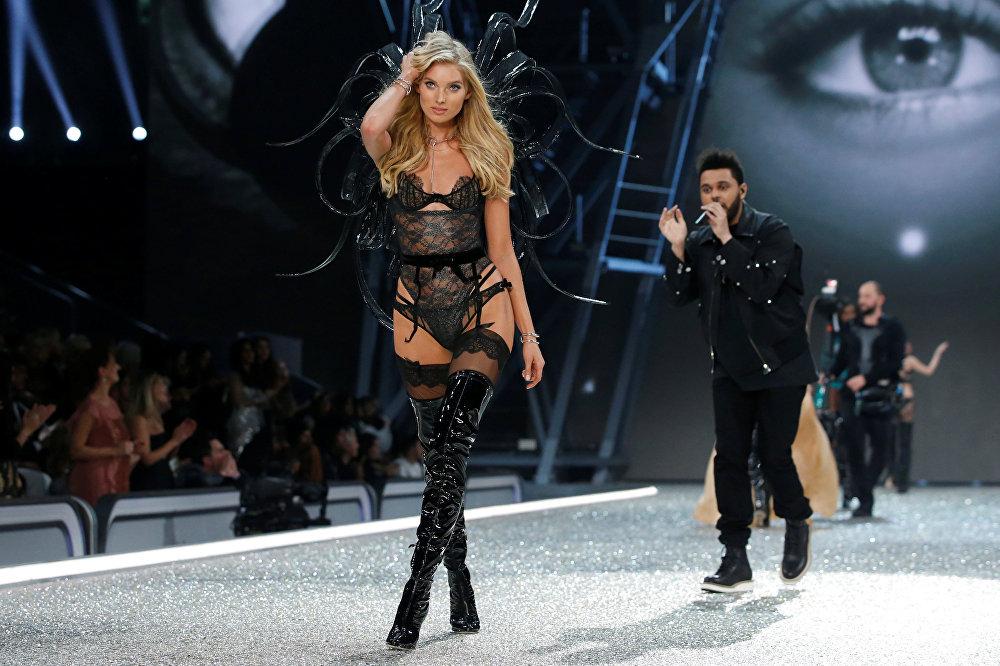Показ The Victoria's Secret Fashion Show запомнился всем зажигательными выступлениями The Weeknd