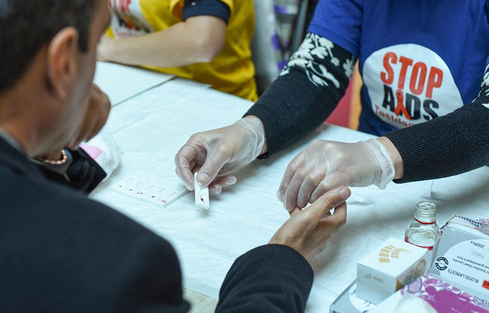 Акция в ТРЦ Park Bulvar, приуроченная к Всемирному дню борьбы со СПИДом