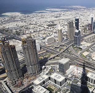 Город Дубай, архивное фото