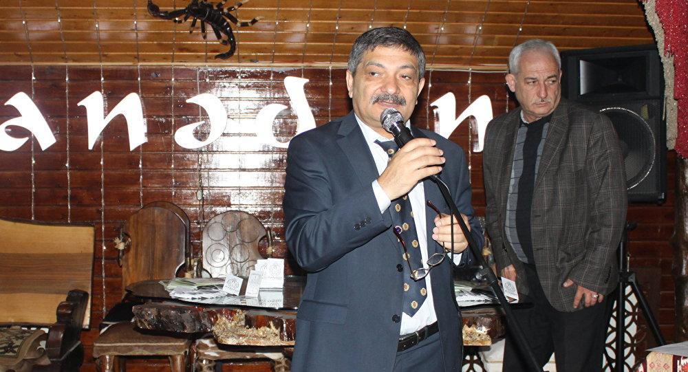 Президент Ассоциации национальной кулинарии Азербайджана Таир Амирасланов