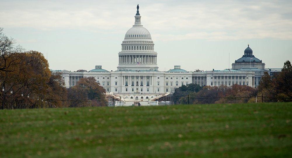 Капитолий — местопребывание Конгресса США