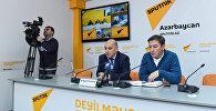 MDB məkanında əlilliyi olan insanların problemlərinin həlli mövzusunda keçirilən Bakı-Tbilisi-Astana-Minsk-Kişinyov videokörpüsü
