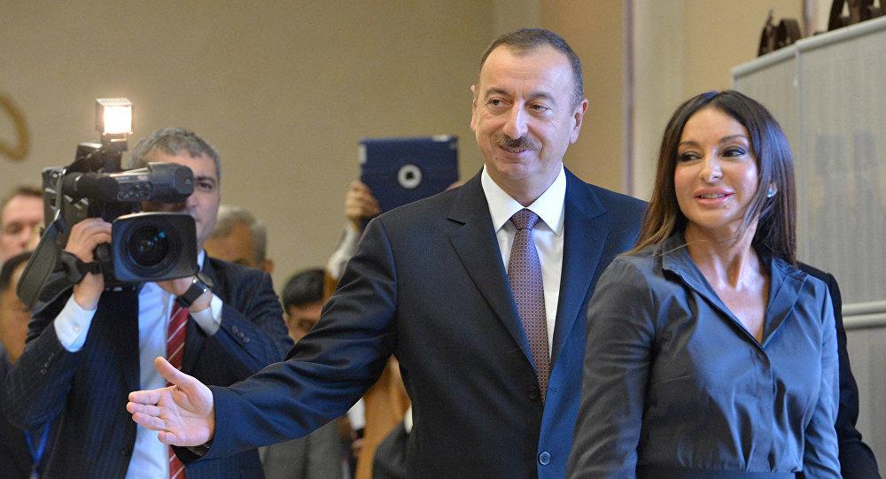 Президент и первая леди Азербайджана поздравили нового главу UEG