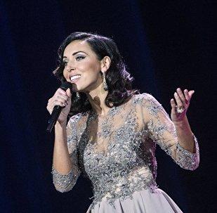 Певица Алсу, фото из архива