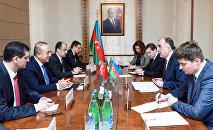 Встреча глав МИД Азербайджана и Турции в Баку