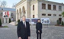 İlham Əliyevin Tərtər rayon ictimaiyyətinin nümayəndələri ilə görüşü