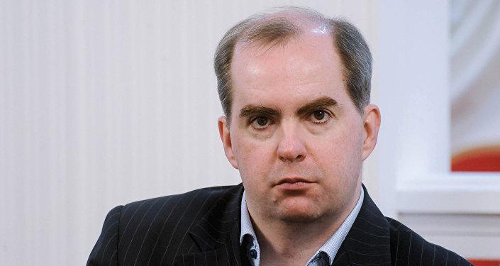 Российский политолог Максим Жаров