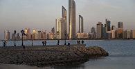 Город Абу-Даби, фото из архива