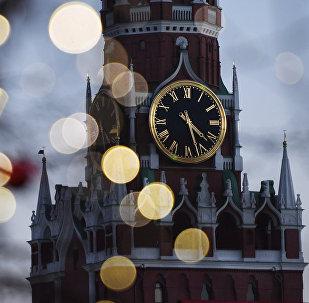 Новогоднее оформление на Красной площади