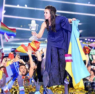 Победительница Евровидения-2016 украинская исполнительница Джамала