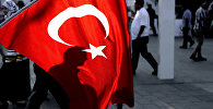 Люди на главной площади Стамбула, Таксим