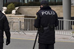 Полицейские в Баку, фото из архива