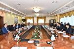 Встреча по взаимодействию по дальнейшему развитию Транскаспийского международного транспортного коридора (ТМТМ)
