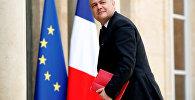 Новый министр внутренних дел Франции Бруно Ле Ру