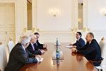 İlham Əliyev Mərkəzçi Demokratlar İnternasionalının prezidentinin başçılıq etdiyi nümayəndə heyətini qəbul edib