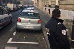 Sputnik-in Paris ofisinin qarşısında polis zabiti