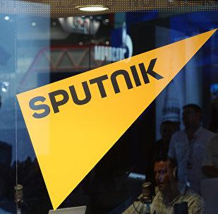 Логотип информационного агентства и радио Sputnik