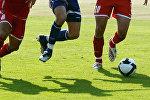 Футбольный матч, фото из архива